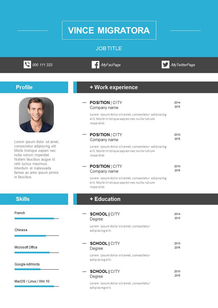 Neutral Resume