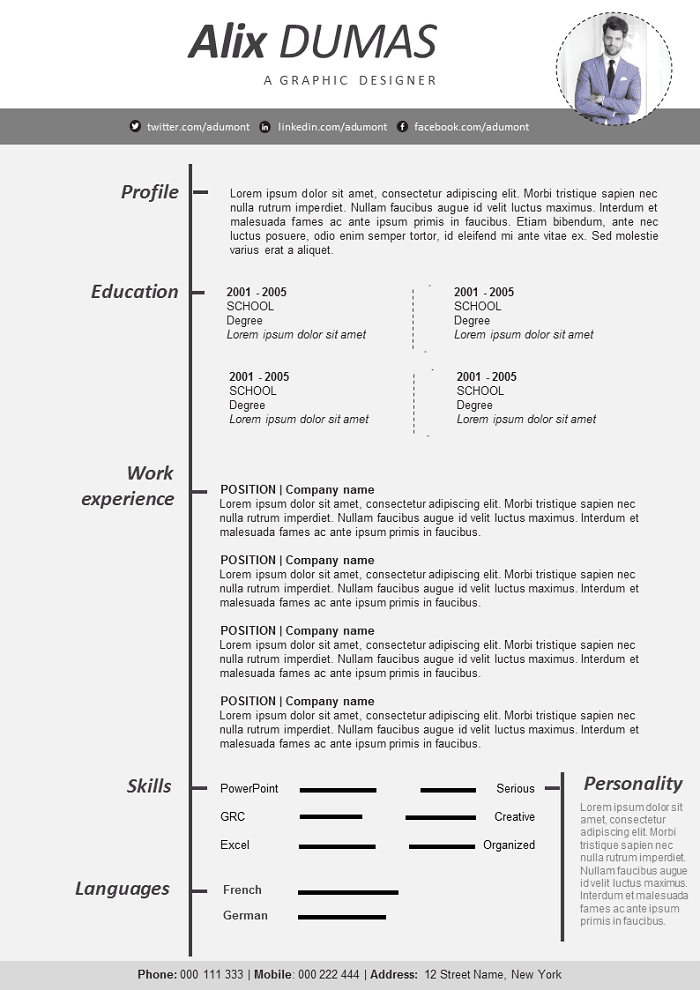 Style Resume