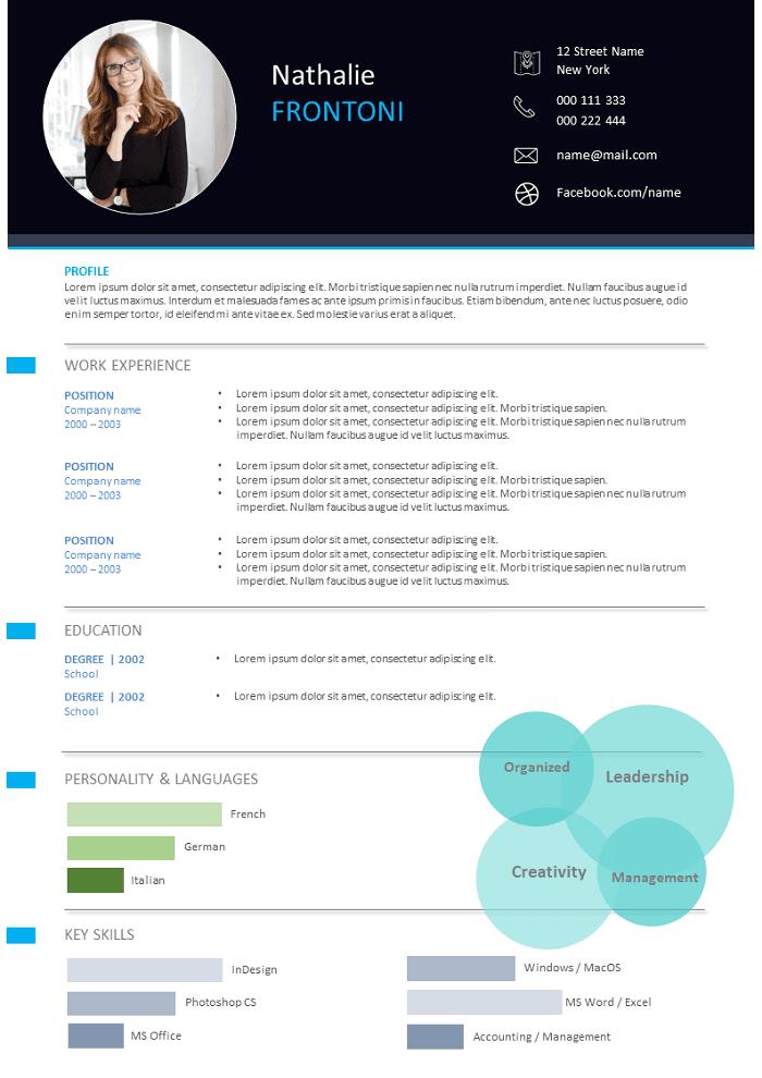Modern and plain Resume