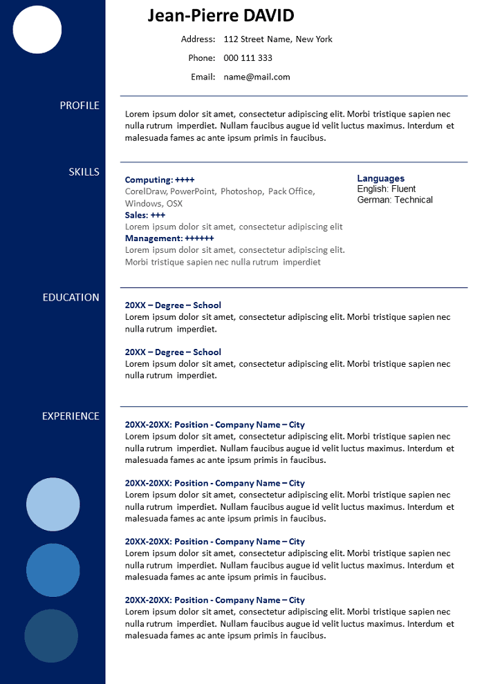 Resume Downloadable