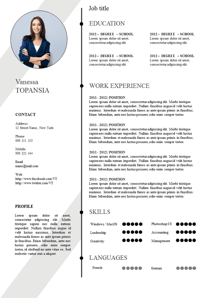 Cameleon Resume
