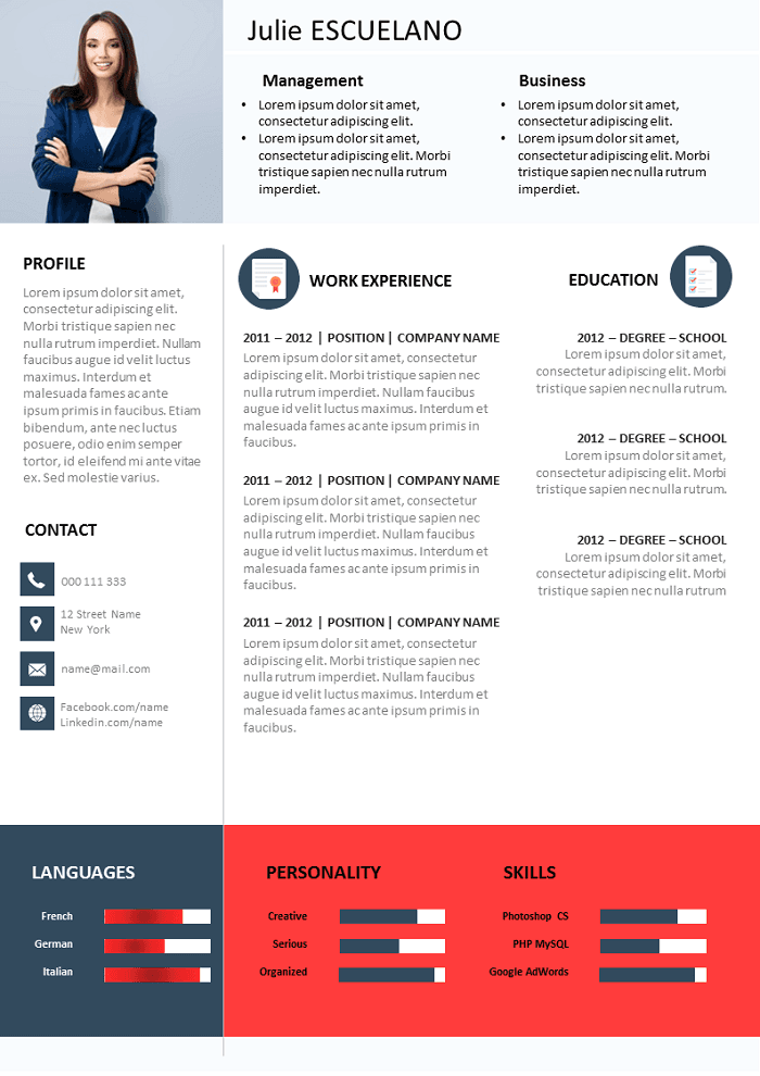 Resume Project Leader