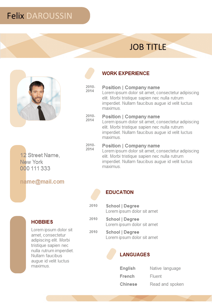 free resume ready to complete to download