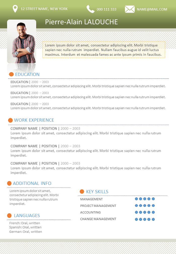 Resume Student