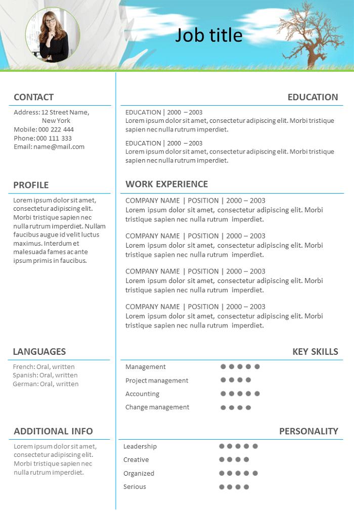 Resume Landscape design