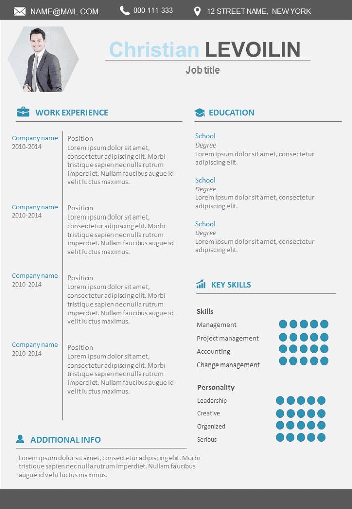 Resume Modern and design
