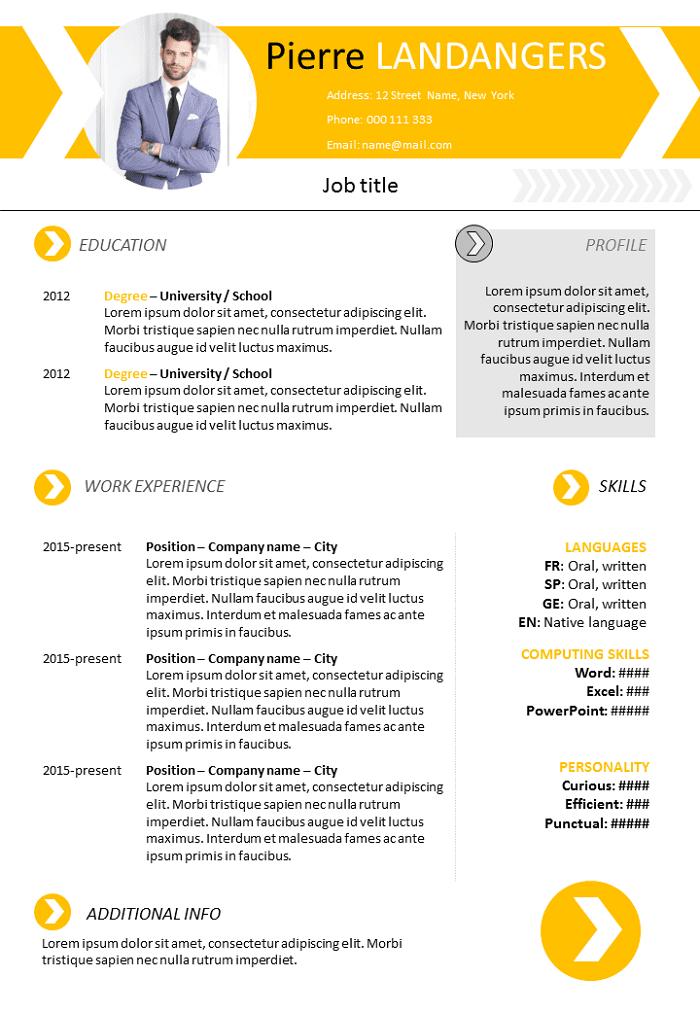 Modern CV / REsume