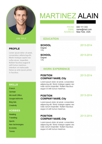 Sleek Resume