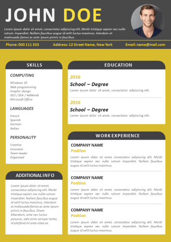 Simple and Designer Resume