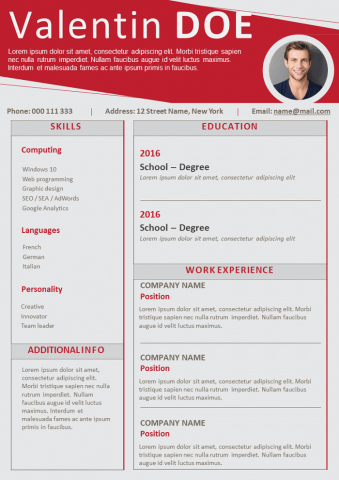 Certified Resume