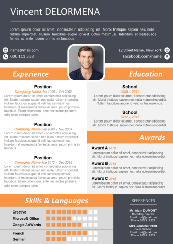 Modern and Design Resume