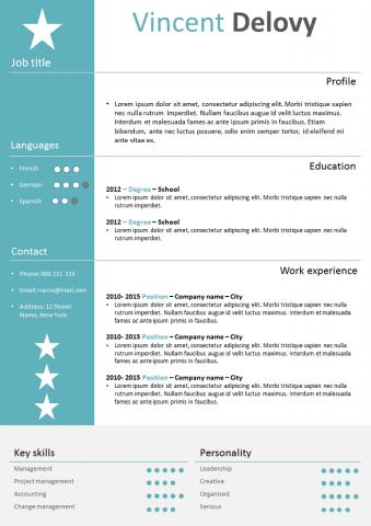 Star Resume