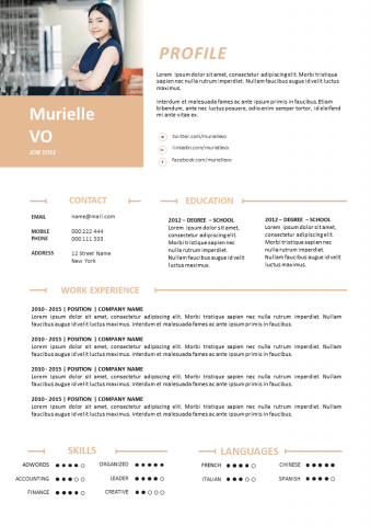 Communication Resume