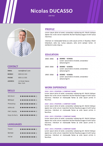 Commercial experiment Resume