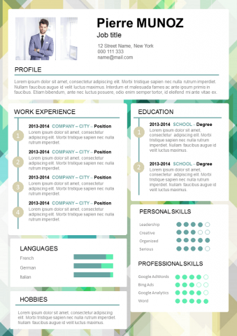 Fun and dynamic REsume