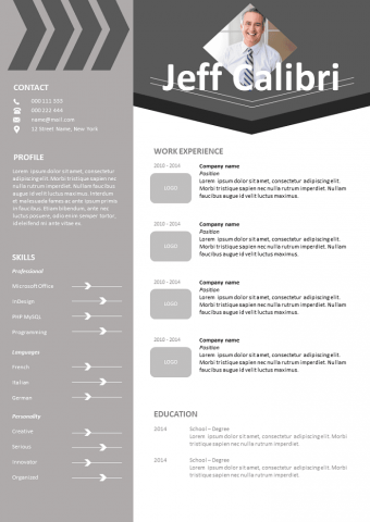 Calibri Resume