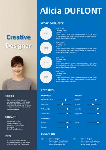Advertising Resume