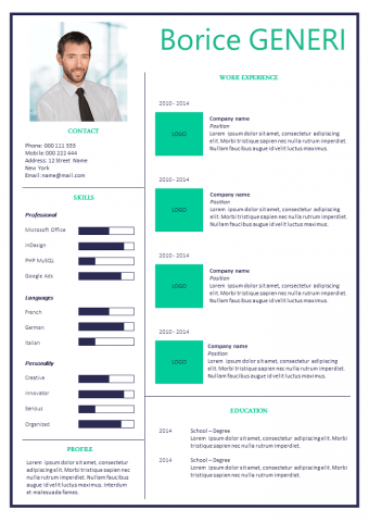 Advantage Resume