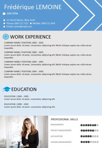 Resume Skills orientated