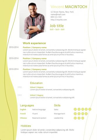 Resume Wavy