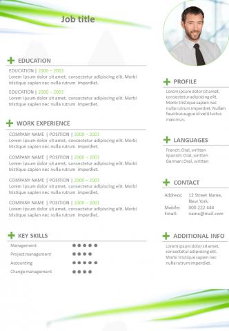 Resume Coloured