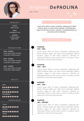 Cleaning lady Resume
