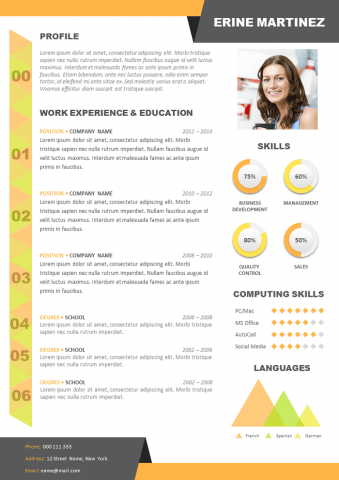 Creative design Resume