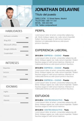 CV en línea