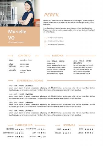 CV Comunicación