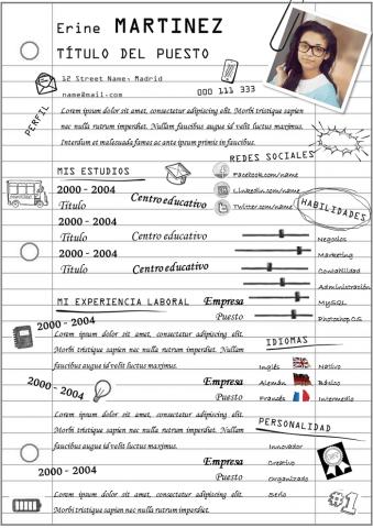 CV Escolar