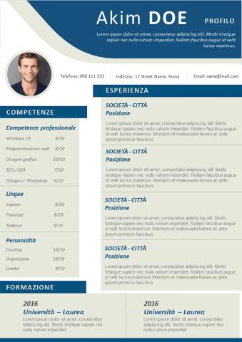 CV Dal Design Pulito