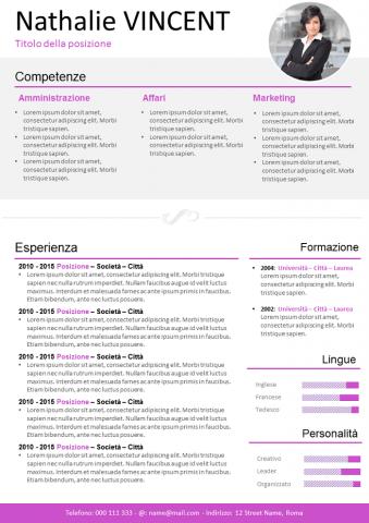 CV Business
