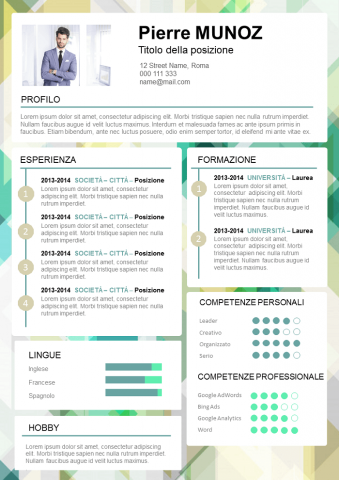CV Divertente e Dinamico