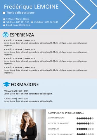 CV Orientato Alle Competenze