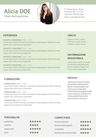 CV Funzionale