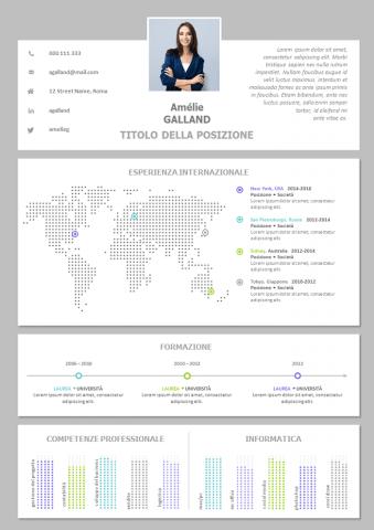 CV Internazionale