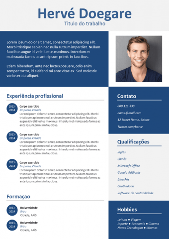 CV Simples e Estiloso