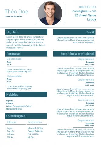 CV Trabalhador Autônomo