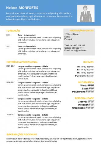 CV Para Imprimir