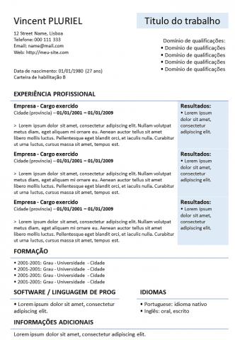 CV Para Baixar Powerpoint
