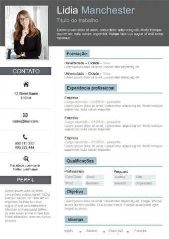Curriculum Vitae Clássico e Original