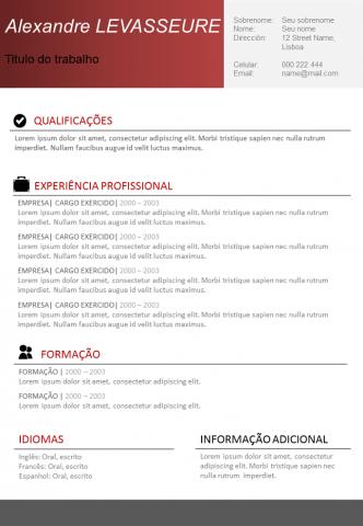 CV Simples e Eficaz