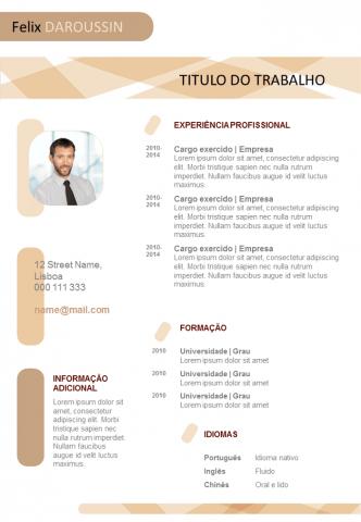 CV Em Branco Pronto Para Preencher