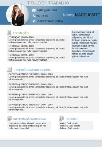 CV Em Cores