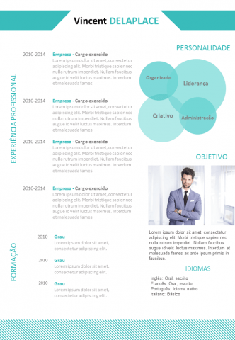 CV Simples e Sóbrio