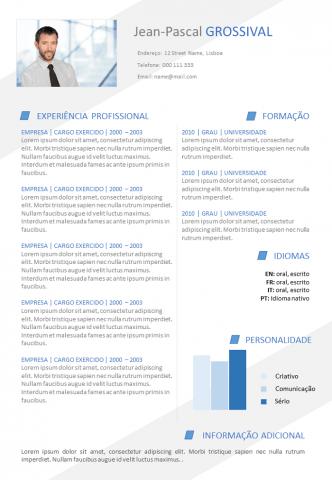 CV Eficaz e Moderno