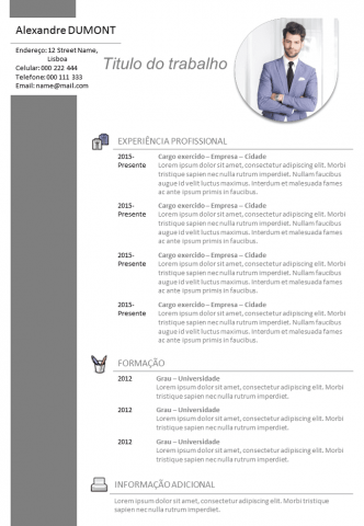 CV Comercial - Vendedor