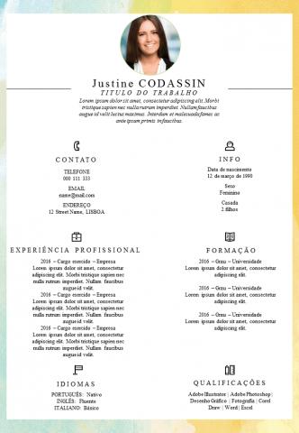 CV Competências