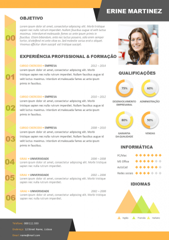CV Criativo Design